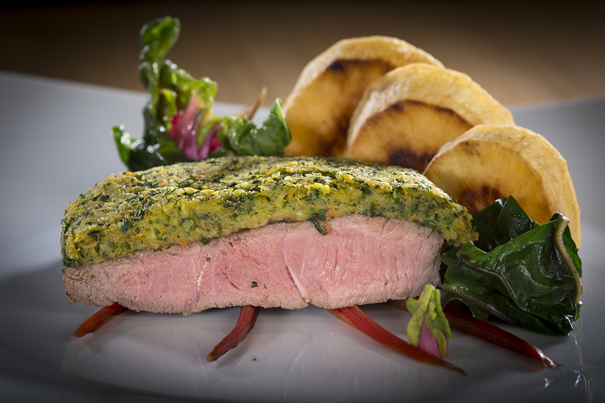 Rezept für Bio Kräuterschnitzel. Syria Beef aus der Fleischwerkstatt